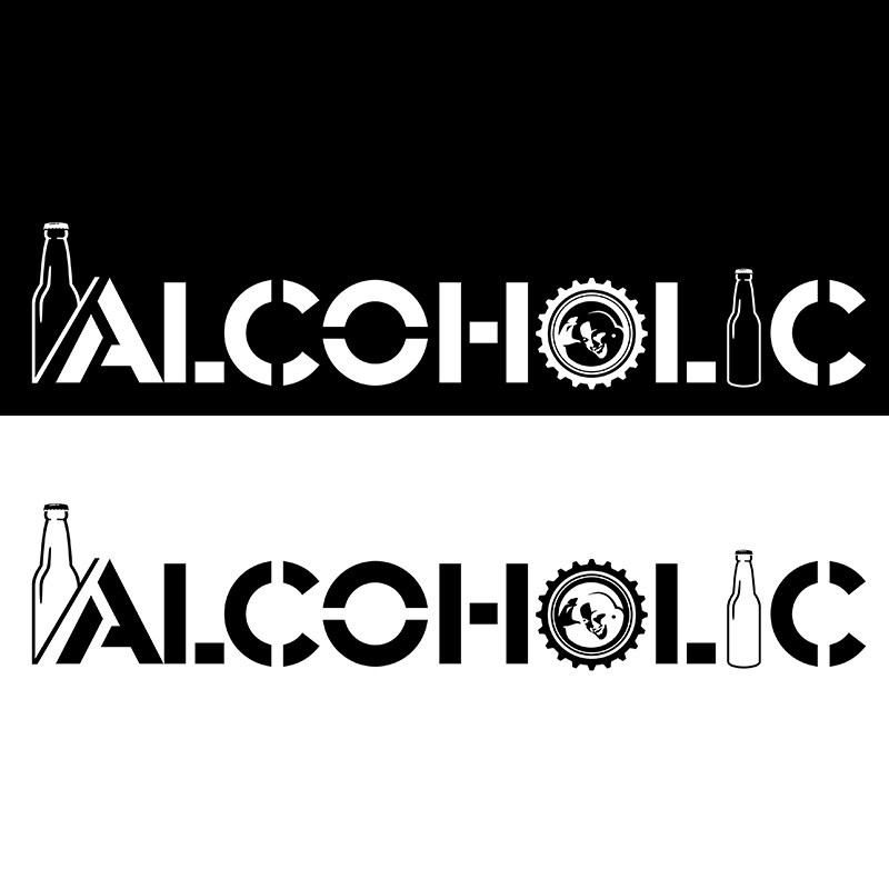 לוגו ALCOHOLIC